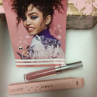 Authentic Colourpop Ultra Satin Liquid Lipstick in Alyssa