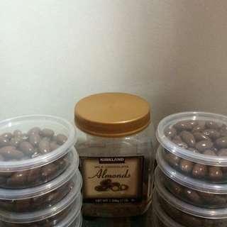 Kirkland almonds open to resellers