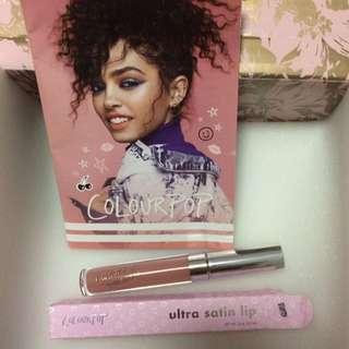 Authentic Colourpop Ultra Satin Liquid Lipstick in Aquarius