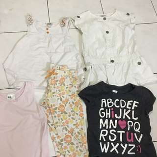 Girl dress 4 in 1