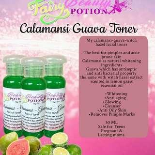 Calamansi-Guava Toner