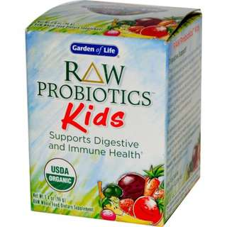 Garden of Life, RAW有機兒童益生菌 RAW Probiotics for Kids