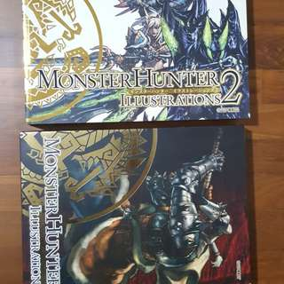 Monster Hunter Illustrations Art Book