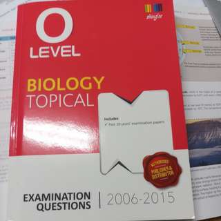 Olevel bio textbook with answers