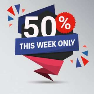 ALMOST 50% OFF ON SELECTED ITEMS