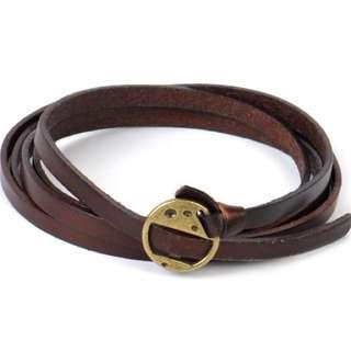 ULB 35-Unisex Leather Bracelet