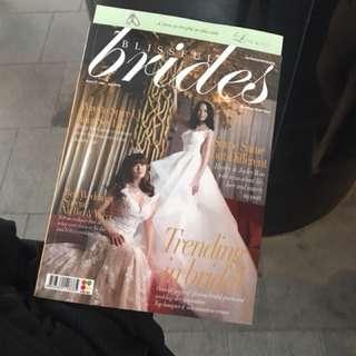 Blissful brides magazine