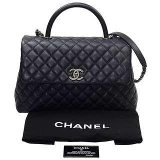 Chanel Coco Handle 罕有 限量 絕版 Black 黑色
