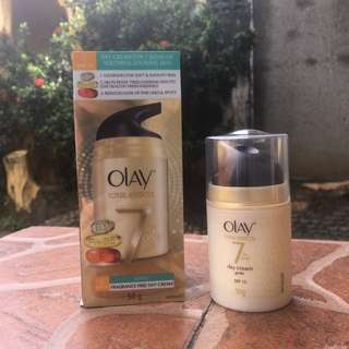 Olay Total Effects day cream - gentle