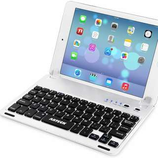 Arteck Ultra-Thin Apple iPad Mini Bluetooth Keyboard