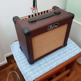 Amplifier (best with guitar!)