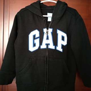 Gap Sweater with zip and hood