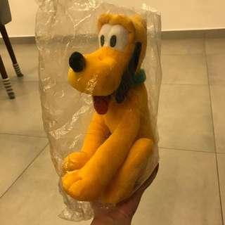 """BNWT Pluto plush toy 11"""""""