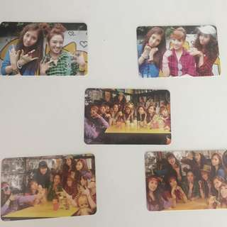 Girls Generation (SNSD) Oh Rare Photo Cards(5pcs)