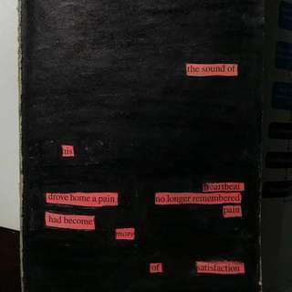 Blackout poetry service