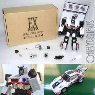 Zeta Toys EX-03 EX03 Jazzy - Transformers Masterpiece MP Jazz
