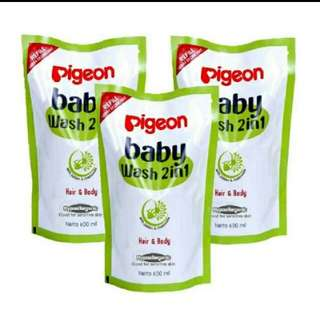 Pigeon Baby Wash 2 in 1