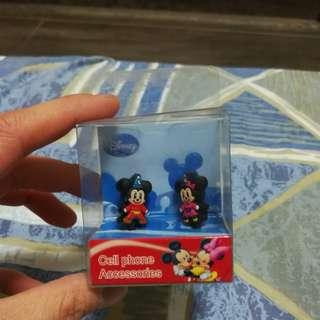 Disney 迪士尼米奇美妮耳機塞