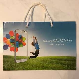 Samsung Galaxy Paper Bag