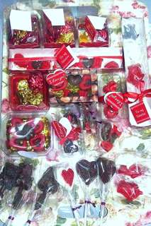 Chocolate Lollipops and Chocolate Surprises in a Box