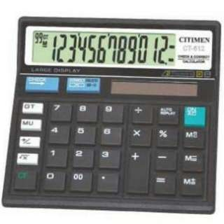 KALKULATOR CITIZEN CT-512 REPLAY CALCULATION 12 DIGIT CT-512