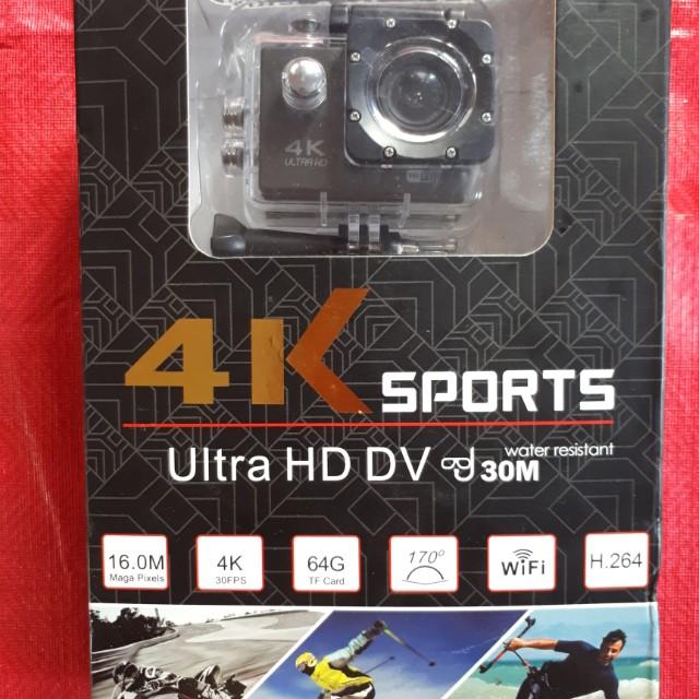 4K Sports Cam Ultra HD