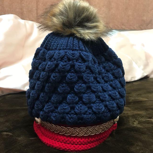 針織保暖帽🎩