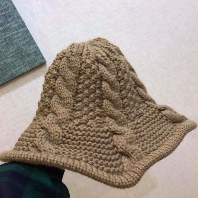 針織魚夫帽
