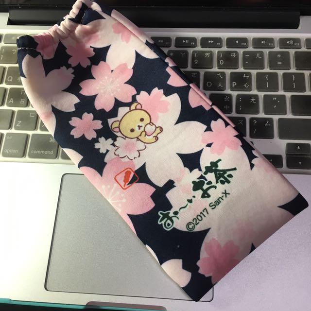 [二手]拉拉熊 熊妹 保溫瓶 保護袋 束口