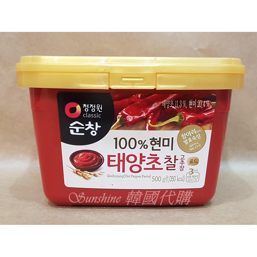 限量一罐 韓國原裝進口 classic 大象牌 辣椒醬   500g