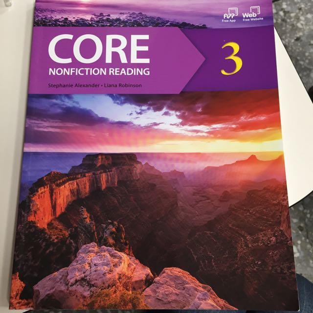 全新 英文課本 Core Nonficition Reading 3