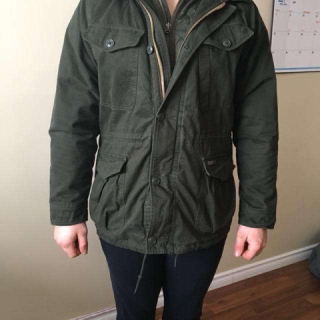 Abercrombie winter jacket xl