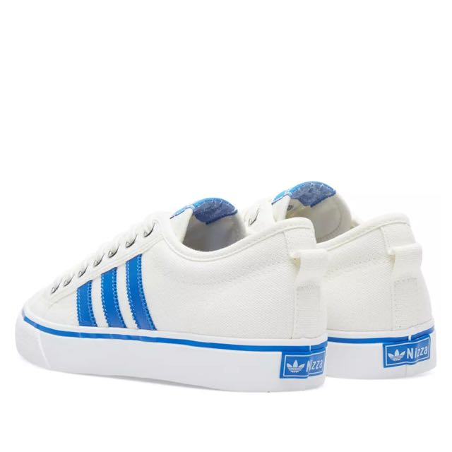1edc5596f956 Adidas Nizza Low (off white and blue)