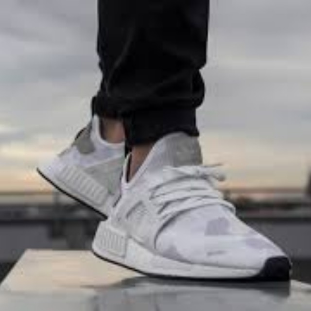 sale retailer 63283 8ce69 ADIDAS NMD XR1 Black Friday Pack White Camo on Carousell
