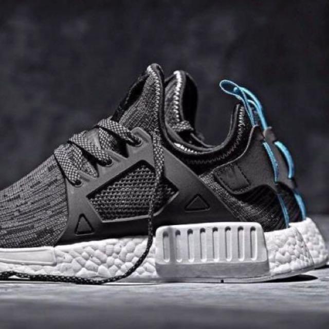 1f6bba535 Adidas NMD XR1 glitch black blue