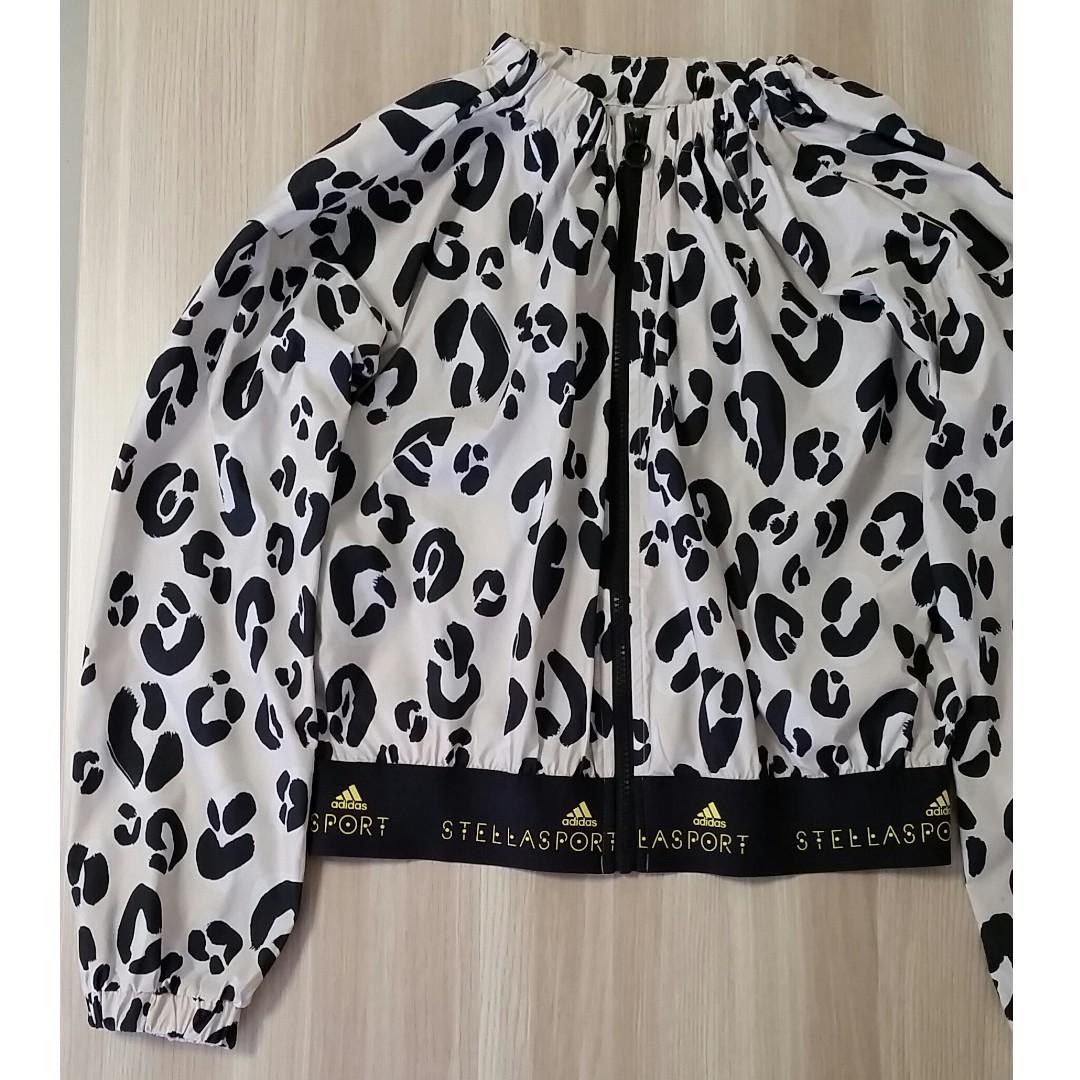 0e748214a2 ADIDAS x Stella McCartney STELLASPORT Graphic Leopard Jacket ...