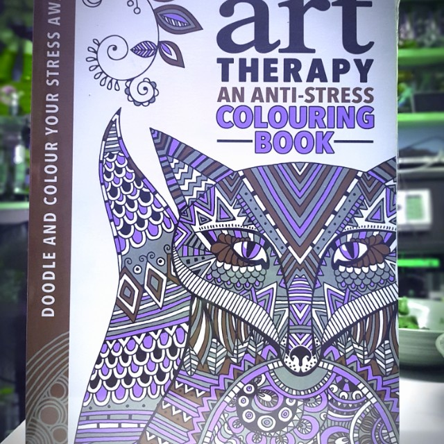 Adult coloring book anti stress