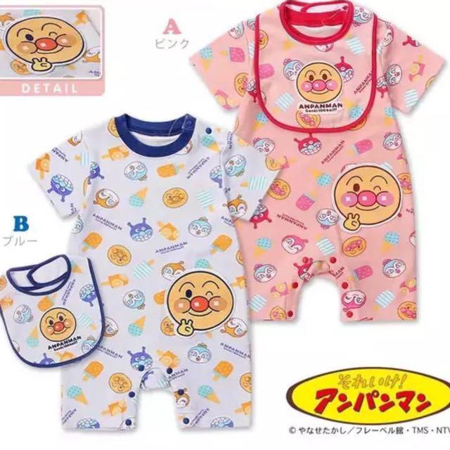 93e2c94ac Anpanman baby romper set, Babies & Kids, Babies Apparel on Carousell