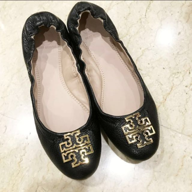 e40cc79d7c Auth tory burch melinda ballet tory burch pumps, Women's Fashion, Shoes on  Carousell
