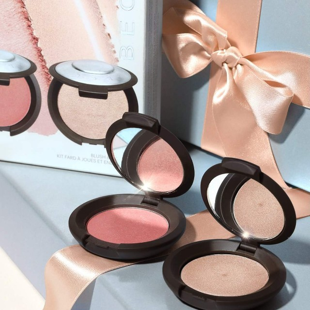 Authentic. Becca blush and glow kit