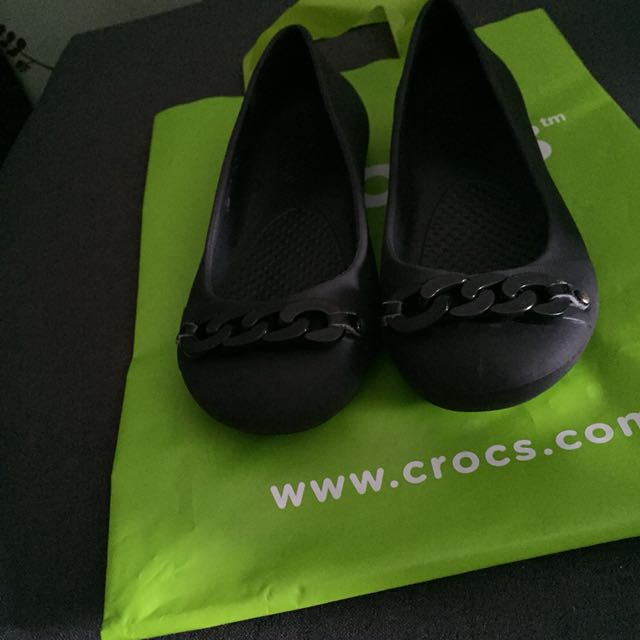 Authentic Crocs Giana Link Ballet Flats