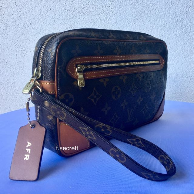 22773e43b778 Authentic Louis Vuitton   LV Men   Clutch   Marly Dragonne