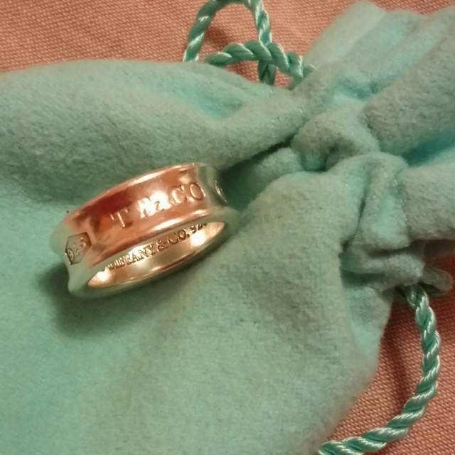 Authentic Tiffany ring. Size 5.5