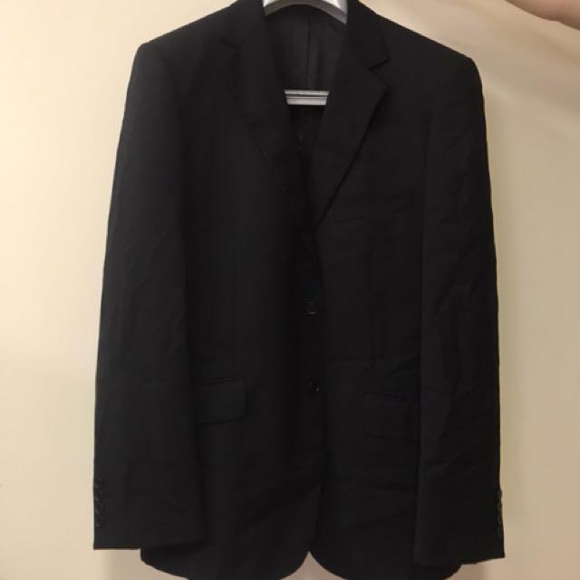 Überstone Pin Stipe Suit