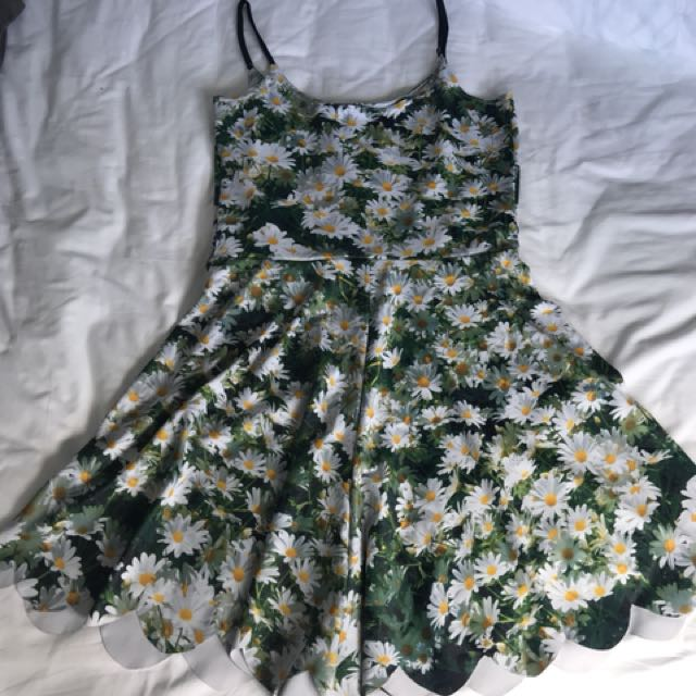 Black milk daisy playsuit