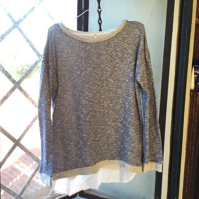 Blue OVS Sweater