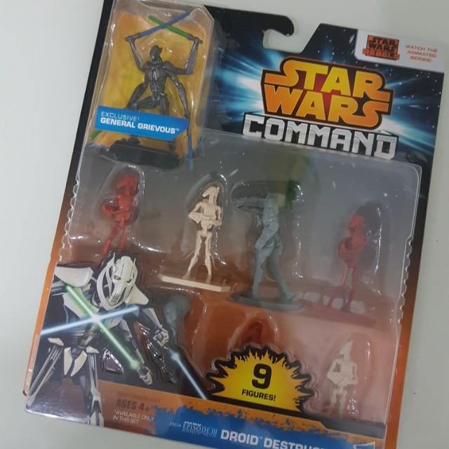 BNIB Star Wars Figures