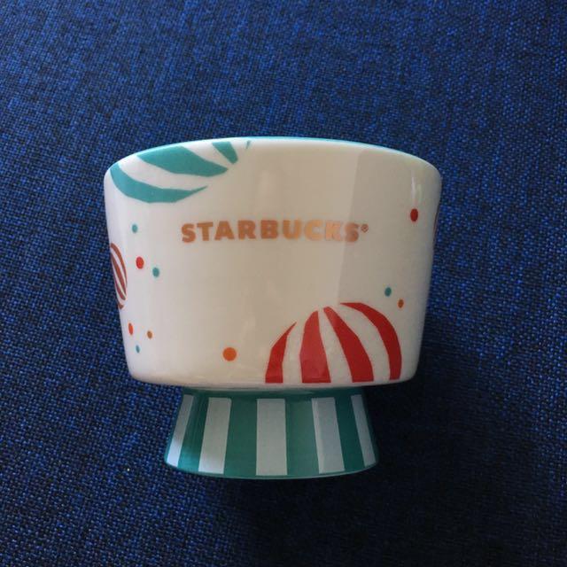 BNWT Starbucks Circus Snack Pot Bowl