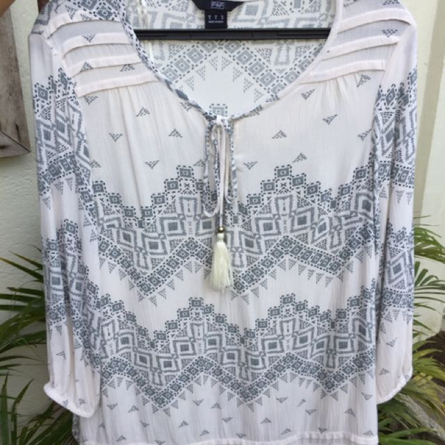 Boho ladies' blouse