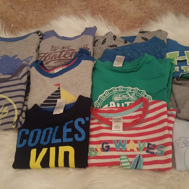Boys bulk tops size 1